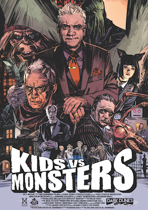 kids vs monsters poster