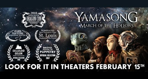 Yamasong: March of The Hollows in Theaters Starting February 15th!
